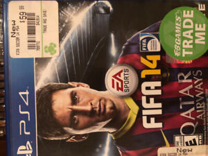 PS4 FIFA 14 game