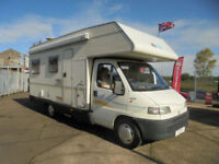 Auto Roller 6 Berth 6 Belted Seats Family Motorhome For Sale