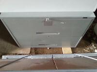 Two Drawer Horizontal Filing Cabinet