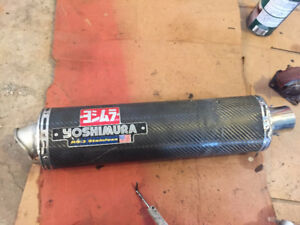 Yoshimura Slip on Exhaust with  Mid-pipe