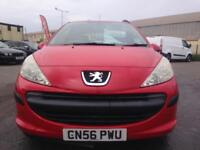 Peugeot 207 1.4 16v 90 SPORT RED CHEAP CAR