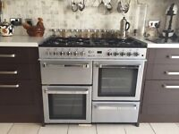 Flavel dual fuel cooker range