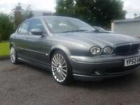 Jaguar X-TYPE 2.0 V6 Sport leather seats grey 53 plate