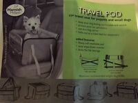 Travel seat/ carrier for dog