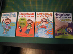 George Brown Class Clown books #1, 4, 5, 6 (by Nancy Krulik)