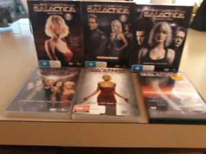 DVD Battlestar Gallatica complete set plus DVD of the movie Sorrento Joondalup Area Preview