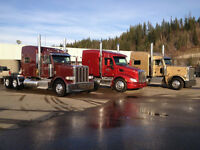 Year round Class 1 driving job out of Prince Rupert BC