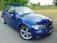 2010 BMW 1 Series 118d M Sport 3dr Step Auto Bluetooth! Low Miles! 3 door Ha...