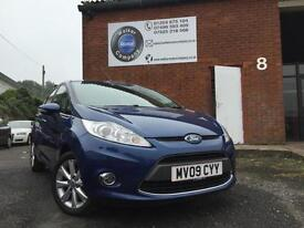 Ford Fiesta 1.4TDCi 2009/59 PLATE Zetec--FULL SERVICE HISTORY - TIMING BELT DONE