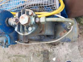 Single phase air compresor