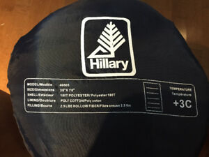 2 Hilary Sleeping Bags  2.5 lbs   Temperature Rating Plus 3 C
