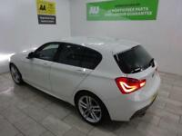 WHITE BMW 1 SERIES 2.0 120D M SPORT ***FROM £271 PER MONTH***