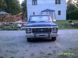 1978 Ford Ranger F-150 / 75th  Anniversary with 351 Cleveland.