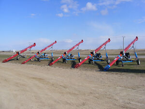 Meridian Grain Augers with Custom E-kay Auger mover packages