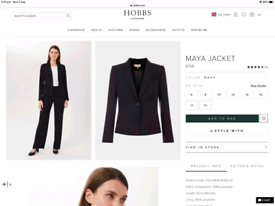 Hobbs London - Maya Jacket - Size 8