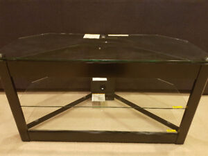Glass 3 Shelf TV stand. Excellent condition