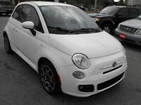 REDUCED !!   2012 Fiat 500 Sport LOADED  AUTO  NO ACCIDENTS