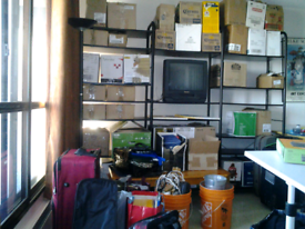 Moving and storage service required.