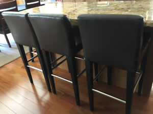 Used Bar Stools-Set of 3