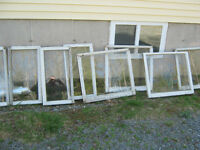 old window sashes $10 each