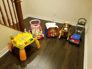 Toys walker activity table