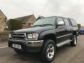 2000 TOYOTA HILUX 2.4 TD GX DOUBLE CAB