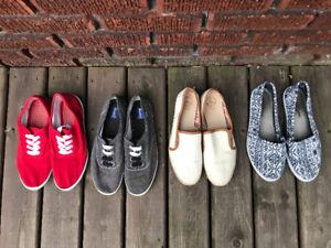 Lot de souliers grandeur 9-10 comme NEUFS / shoes boots heels
