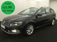 £227.37 PER MONTH VW PASSAT 2.0TDI BlueMotion Tech AUTO Executive ESTATE 140bhp