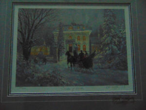 2 Prints by Walter Campbell and 1 done by Douglas R Laird London Ontario image 7