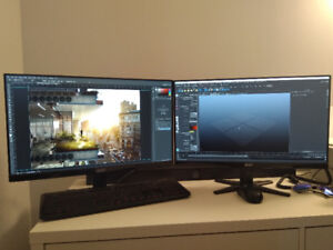 24 inch, Acer FullHD IPS Monitor