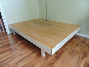 Double bed -- simple homemade
