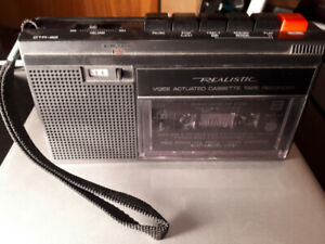 Cassette Tape Player/Recorder