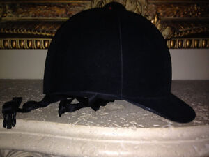 Childs Youth Equestrian Hat Kids Medium M Med Riding Horse Girls