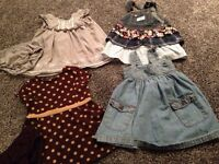Baby girl dresses size 12-18 months