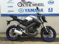 2016 YAMAHA MT-125 ABS RACE BLU SILVER, BRAND NEW! ON THE ROAD 0% APR FINANCE