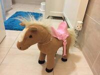 Baby born interactive horse
