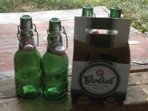 GROLSCH FLIP TOP BEER BOTTLES FOR SALE