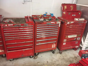 ONLINE INDUSTRIAL AUCTION - TOOL CHESTS/POWER TOOLS