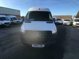 Mercedes-Benz Sprinter 314 LWB H/R VAN EURO 6 DIESEL MANUAL WHITE (2018)