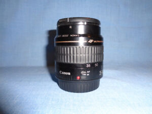 (For Parts) Canon ZOOM Lens EF 35-80mm f4-5.6, 0.38m/1.3ft Lens
