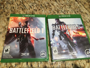 Battlefield 1 & 4 Bundle