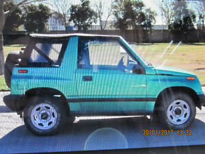 1996 Chevrolet Tracker Coupe (2 door)