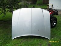 alluminum hood and trunk from 06 chrysler 300.