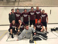 Local ball hockey league looking for individual players