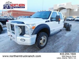 2015 Ford Super Duty F-550 DRW 4WD Crew Cab CAB AND CHASSIS