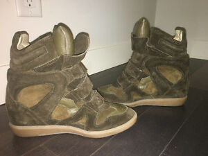 **authentic!!* Isabel Marant sneaker-heels!! Worn twice only!!