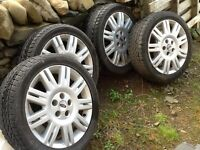 Ford Alloy Wheels with Quality Vredestein winter tyres