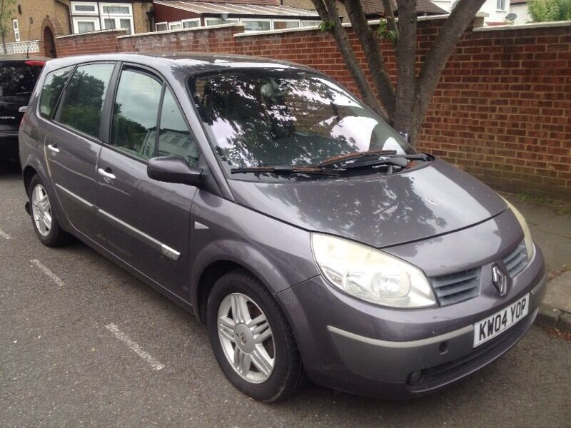 renault scenic 2005 diesel 7 seater mot tax dci in north london london gumtree. Black Bedroom Furniture Sets. Home Design Ideas