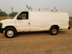 2008 Ford E-250 Cargo Extended Van for Sale $6995 *REDUCED*