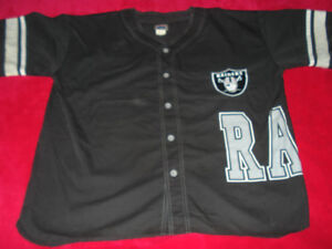 Men's Officially Licensed Vintage Raiders Jersey